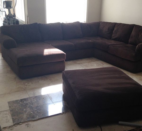 scottsdale sectional from jerome's for sale in corona, ca - offerup