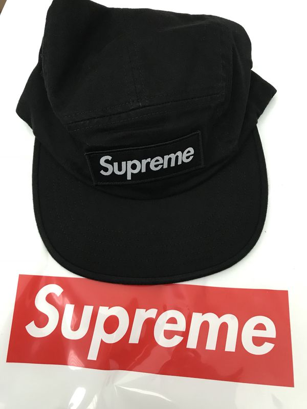 Supreme Military Camp Cap Black for Sale in San Leandro 6f03387a32a