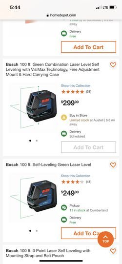 100ft Self Leveling Laser Level W/ Tripod Thumbnail