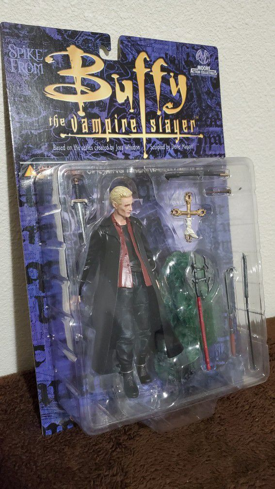 Spike Action Figure from Buffy the Vampire Slayer