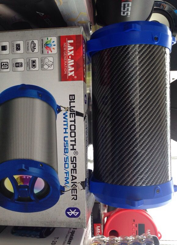 LAX-MAX Portable Bluetooth Speaker for Sale in San Diego, CA - OfferUp