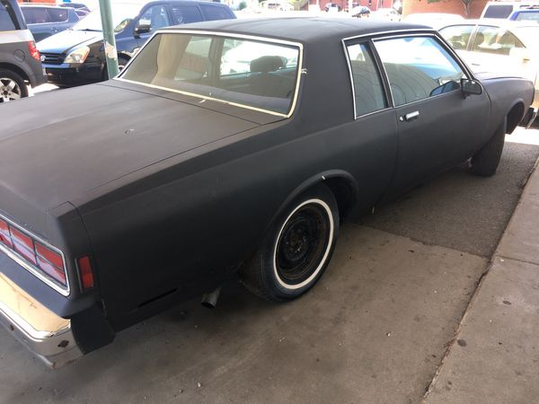 1981 2 door Chevy caprice for sale for Sale in Round Lake, IL - OfferUp