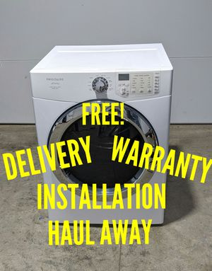 Photo FREE DELIVERY/INSTALLATION/WARRANTY/HAUL AWAY - Frigidaire Affinity Front Load Dryer