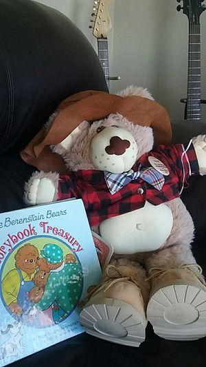 Big original Berenstain Bear with book for Sale in Salt Lake City, UT