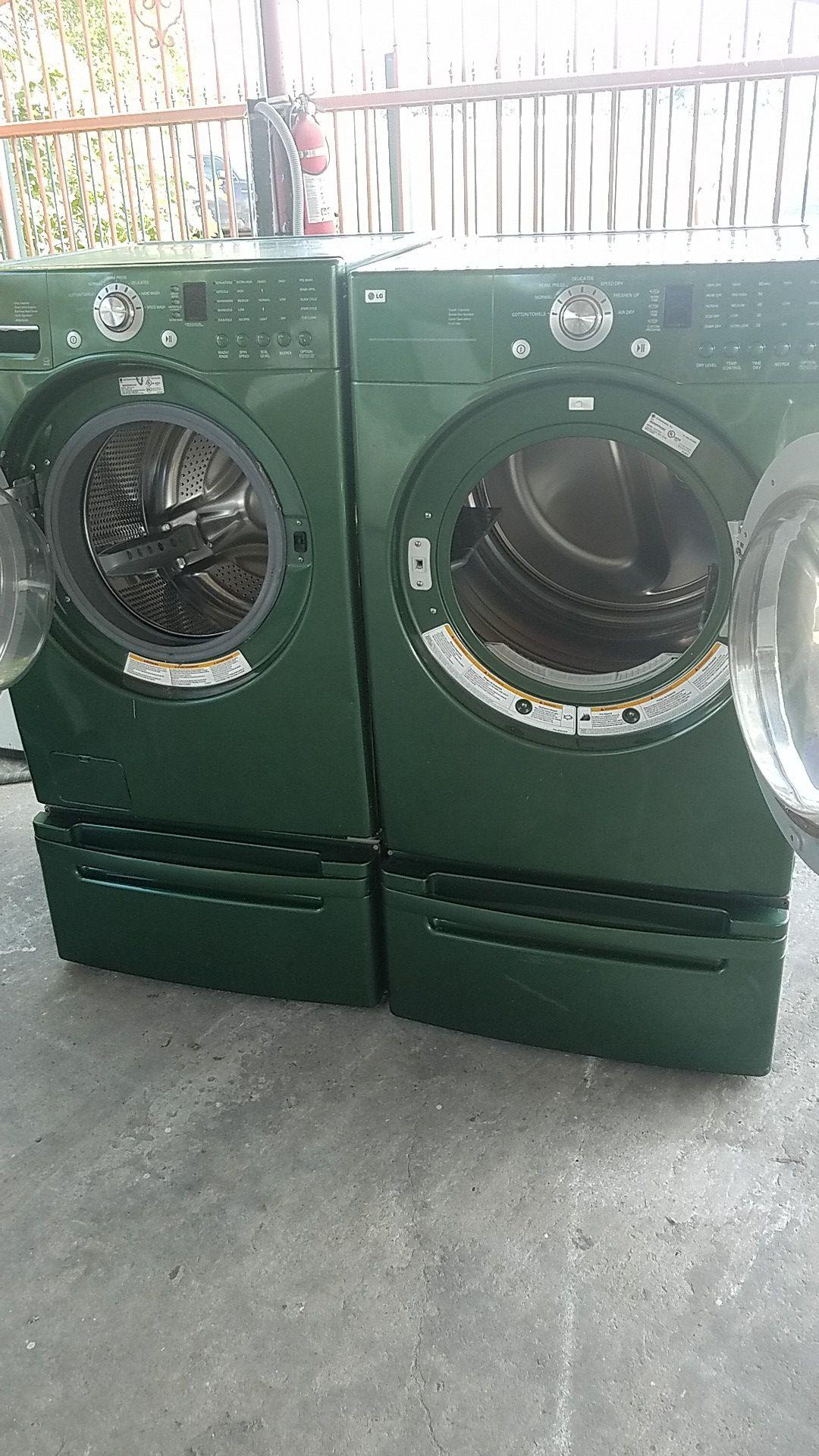 LG lavadora y secadora electrica