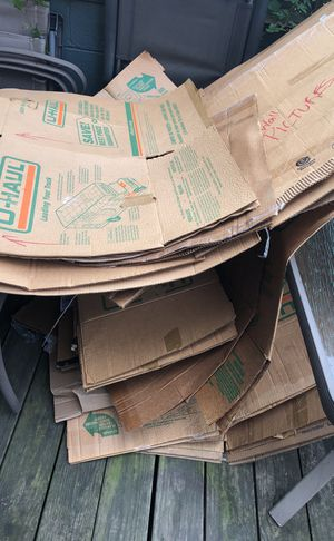 FREE Moving Boxes from Uhaul and Home Depot for Sale in Washington, DC