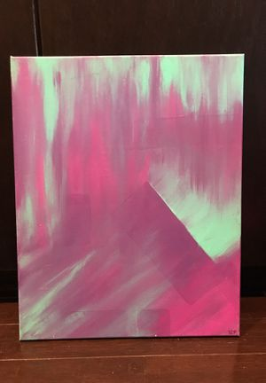 """Purple & Teal Painting 16x20"""" for Sale in Columbus, OH"""
