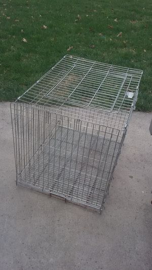 XLarge Crate Kennel for a big Dog for Sale in Springfield, VA