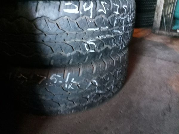 Used Tires Phoenix >> 2 Used Tires 245 75 16 Gold Star For Sale In Phoenix Az Offerup