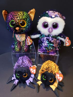 Ty Beanie Boos, Flippables, Teeny Tys Halloween Exclusive Lot for Sale in Brookhaven, NY