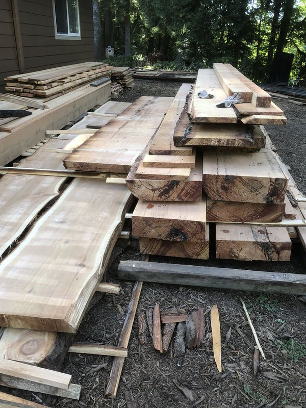 Lumber beams and posts cedar and noble different size from 9'-20'long for  Sale in Portland, OR - OfferUp
