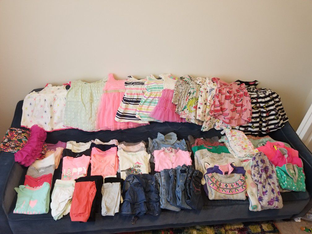18 24mnth toddler girl clothing lot