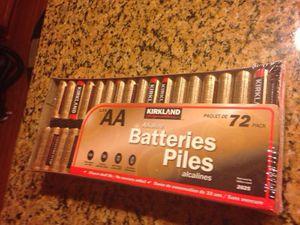 Brand me Kirkland brand AA batteries for Sale in Bristow, VA