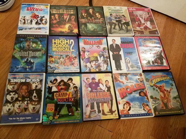 15 disney dvds 45$ for Sale in Mount Hope, KS - OfferUp