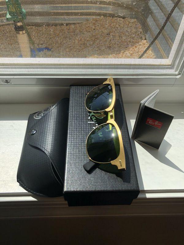 0cb796e2c87 Ray Ban Clubmaster Aluminum RB 3507 Sunglasses for Sale in ...