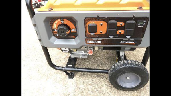 New Generac RS5500 Generator for Sale in Salisbury, NC - OfferUp