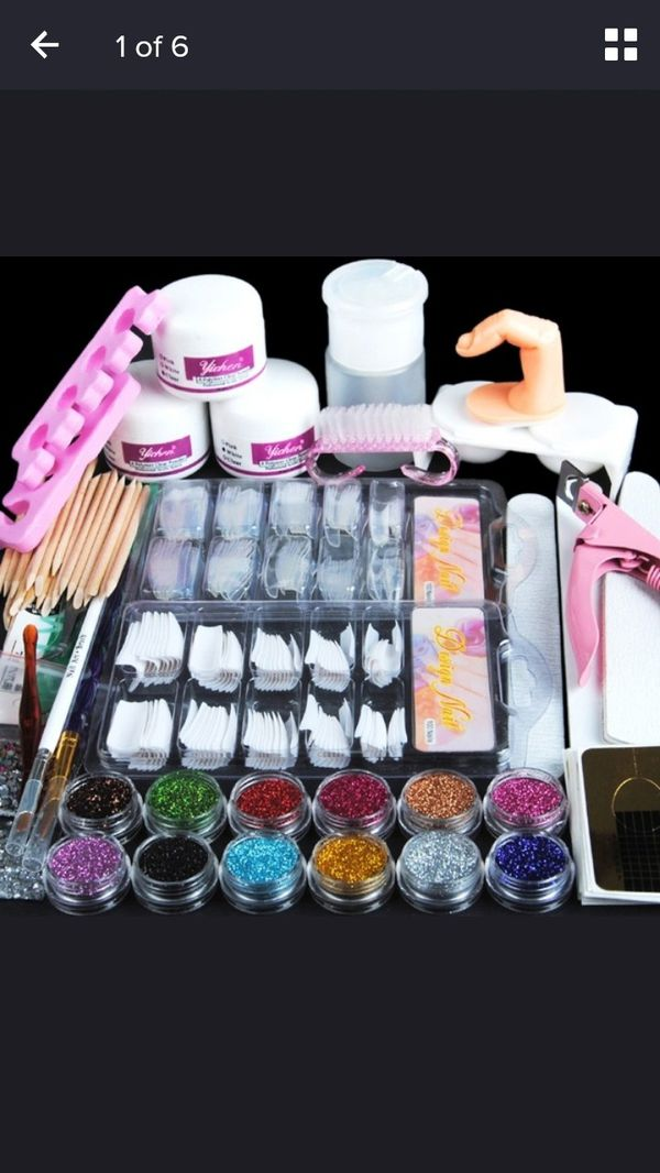 Acrylic nail kit (READ DESCRIPTION) for Sale in Tampa, FL ...