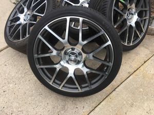 22 inch TSW rims came off a Mercedes like new {contact info removed} for Sale in Rockville, MD