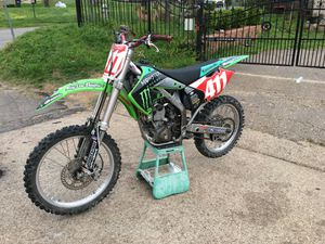 Photo Kawasaki KX250F cross moto dirt bike Atv 4 wheeler four wheeler 4wheeler cuatrimoto