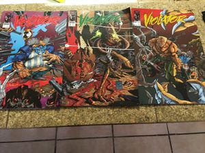 Collectible comics from Todd McFarlane toys and figures The Violator comic book series for Sale in Tempe, AZ