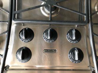Kitchen Aid Gas Cooktop  Thumbnail