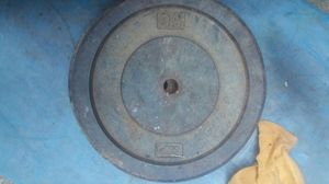 """50 pound plate weight 1"""" 3 available for Sale in Silver Spring, MD"""