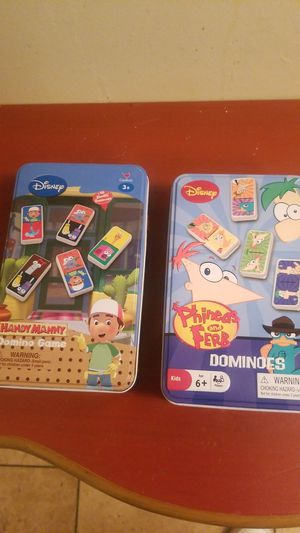 DISNEYS HANDY MANNY & PHINEAS AND FERD DOMINOS for Sale in Calumet City, IL