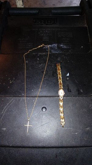 Two 14 carat gold pieces women's jewelry for Sale in Montgomery Village, MD