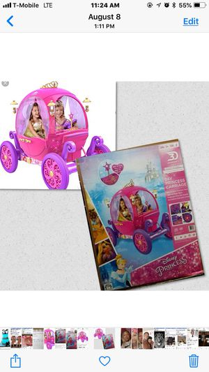 Brand New 24 volt Princess Carriage for Sale in Duluth, GA