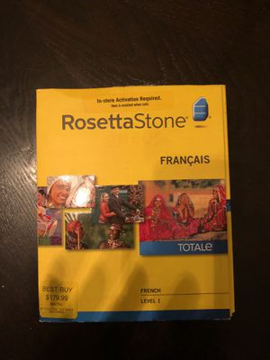 Rosetta Stone - French for Sale in Tampa, FL