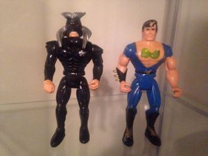 Double Dragons action figures toy video game for Sale in Baltimore, MD