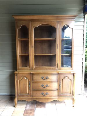 Bassett French Provincial hutch for Sale in Sterling, VA