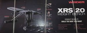 Photo Weider XRS20 Olympic Workout Bench with Removable Preacher Pad and Leg Developer