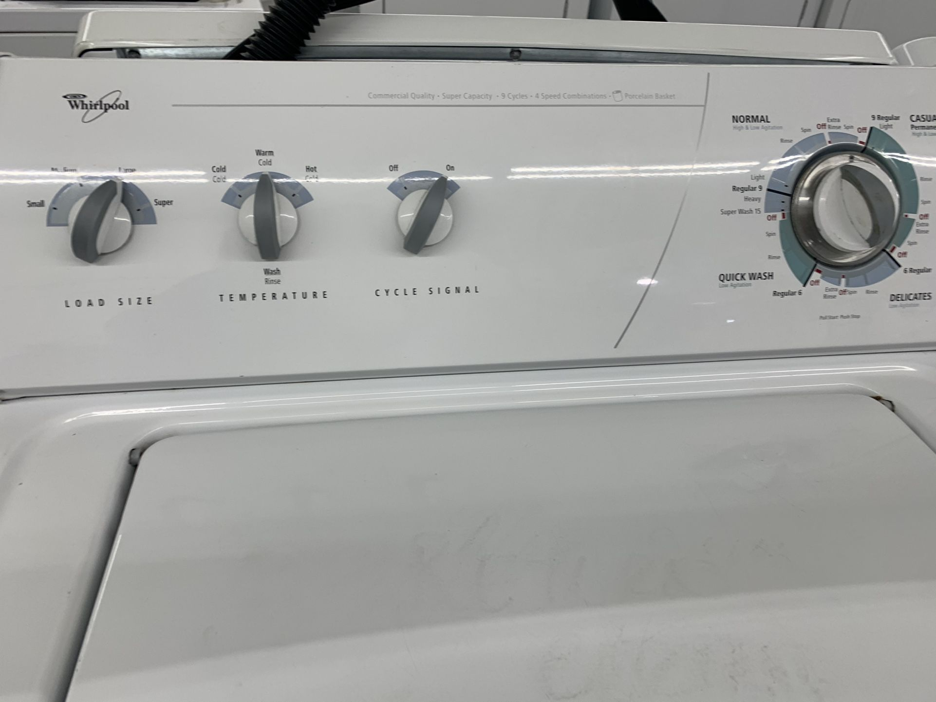 Whirlpool Washer - Heavy Duty! 13 Options! Super Capacity! 30-Day Guarantee! Delivery Available Today