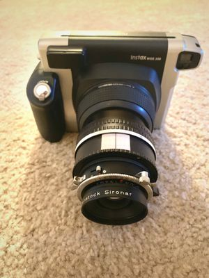 Instax Wide With Custom Lens for Sale in Daly City, CA
