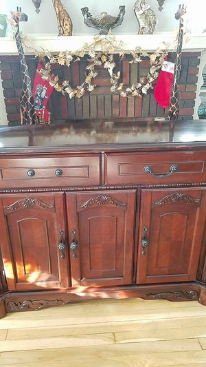 Buffet console table for Sale in Parma, OH