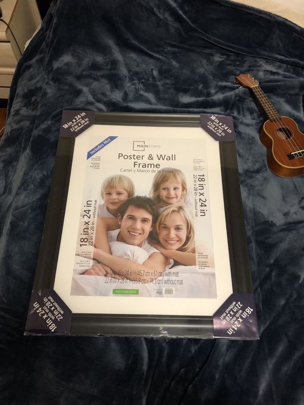 Mainstays poster & wall frame brand new! for Sale in Merced, CA ...