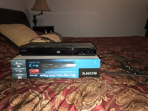 Sony Blu-ray player barely used for Sale in Leesburg, VA