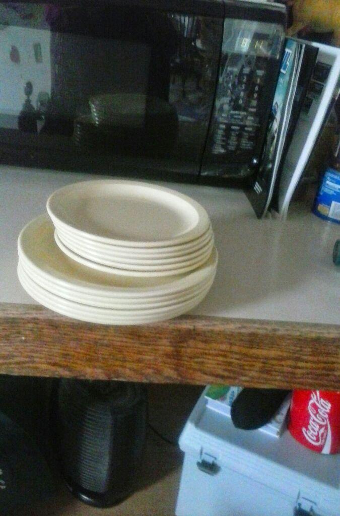 Dallas ware vintage plates 9 in 6 in $15 Everson Washington