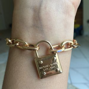 Mk Michael Kors padlock bracelet bangle jewelry for Sale in Silver Spring, MD
