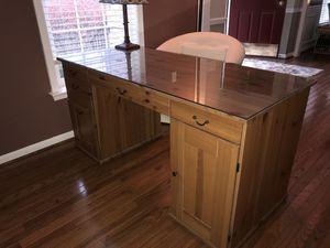 IKEA pine desk for Sale in Dale City, VA