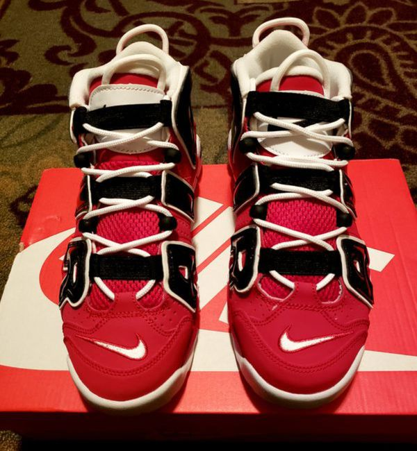 best website f2e8f 9a103 Nike Air More Uptempo Bulls Hoops Pack GS Size 7 for Sale in Las ...