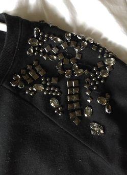 Black soft sweater size large Thumbnail