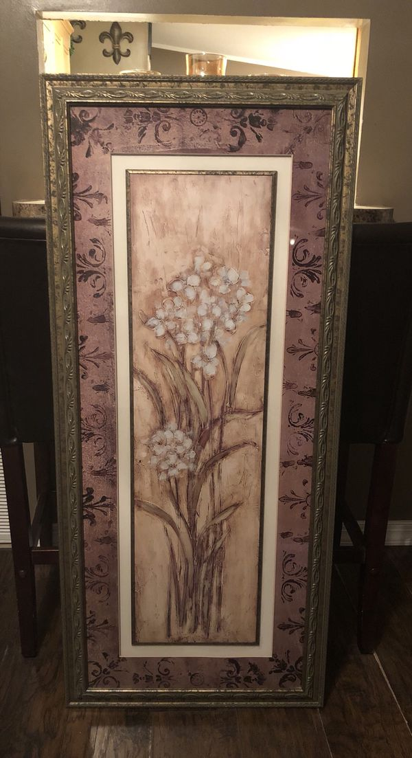 """Large frame wall decor 24"""" by 54"""" for Sale in Minneola, FL - OfferUp"""