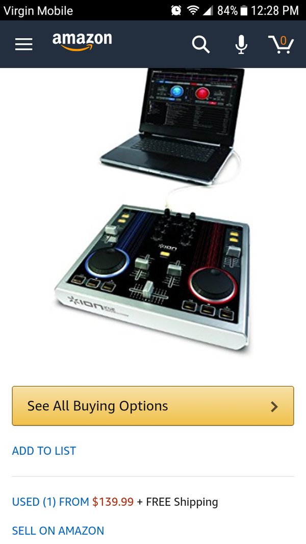 Ion icue dj controler $60 or best offer for Sale in Harrisonburg, VA -  OfferUp