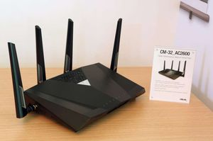 ASUS Router - works with new Comcast regs CM-32_AC2600 for Sale in Boca Raton, FL
