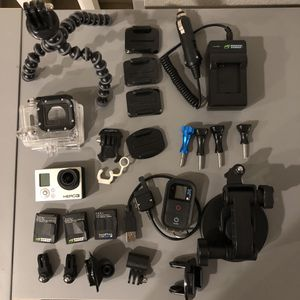 GoPro Hero 3 Black Edition for Sale in Tacoma, WA