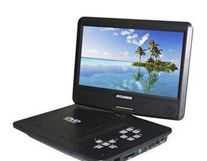 Photo DVD Car Video Player Portable Home Reproductor de Discos CD Sylvania 10.1