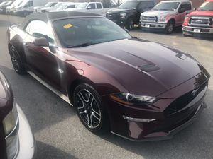 2018 Ford Mustang GT Premium Convertible/Nav/ 10-Spd Auto with 7,951 miles for $38,998. for Sale in Fairfax, VA