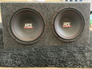 Photo MTX Audio